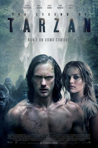 Poster of The Legend of Tarzan