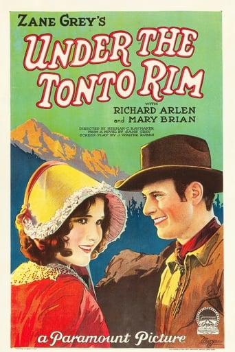 Poster of Under the Tonto Rim