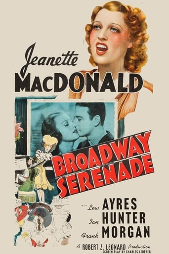 Poster of Broadway Serenade