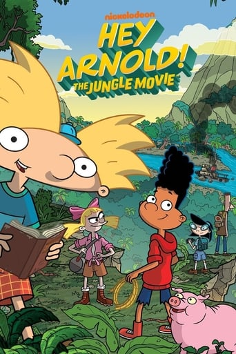 Poster of Hey Arnold! The Jungle Movie