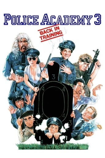 Poster of Police Academy 3: Back in Training