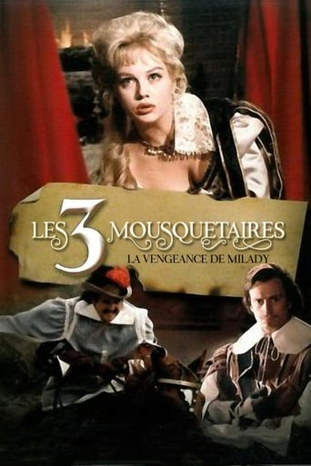 Poster of Vengeance of the Three Musketeers