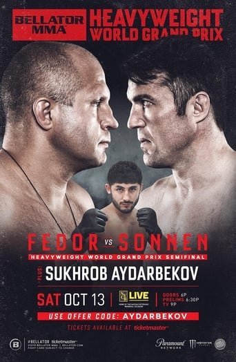 Poster of Bellator 208: Fedor vs. Sonnen