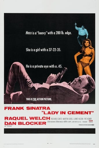 Poster of Lady in Cement