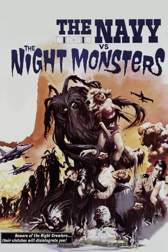 Poster of The Navy vs. the Night Monsters