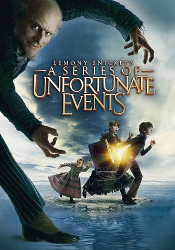 Poster of Lemony Snicket's A Series of Unfortunate Events