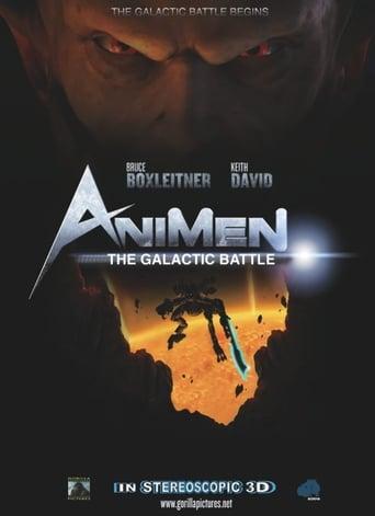 Poster of AniMen: The Galactic Battle
