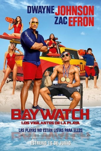 Poster of Baywatch, Los vigilantes de la playa