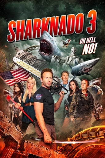 Poster of Sharknado 3: Oh Hell No!