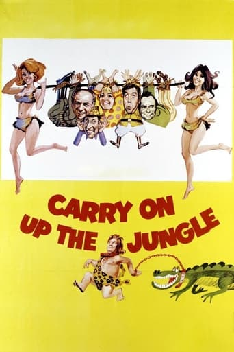 Poster of Carry On Up the Jungle