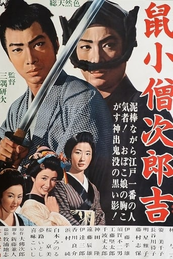 Poster of Nezumi Kozo Jirokichi