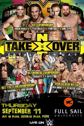 Poster of NXT TakeOver: Fatal 4-Way