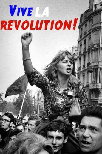 Poster of Vive la Revolution! Joan Bakewell on May '68