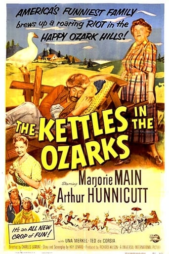 Poster of The Kettles in the Ozarks