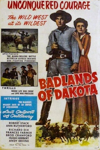 Poster of Badlands Of Dakota