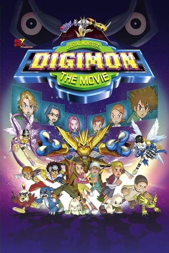 Poster of Digimon: The Movie