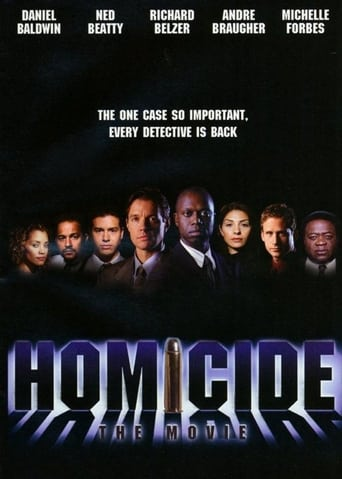 Poster of Homicide: The Movie