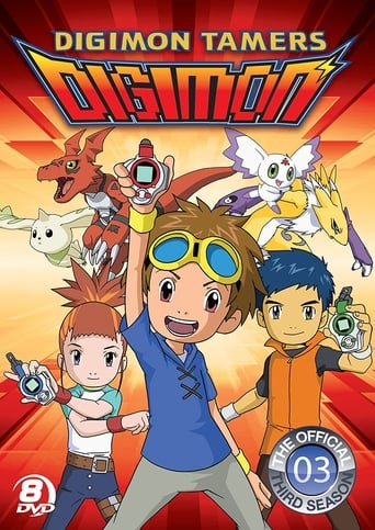 Poster of Digimon Tamers