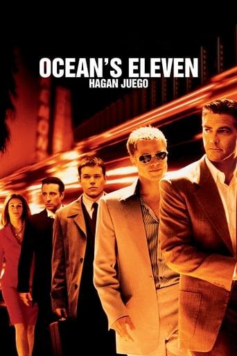 Poster of Ocean's Eleven. Hagan juego
