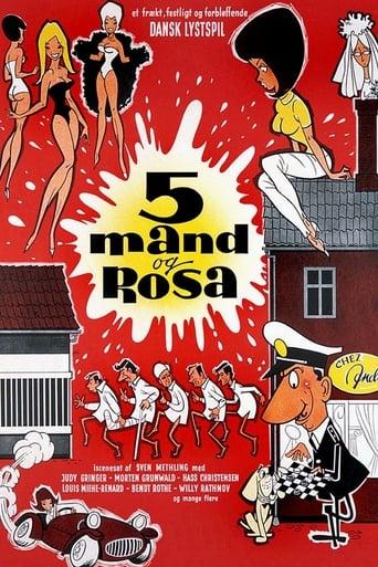 Five men and Rosa