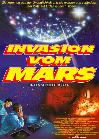 Filmplakat von Invasion vom Mars