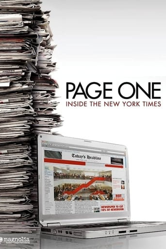 Poster of Page One: Inside the New York Times