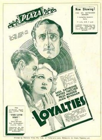 Poster of Loyalties
