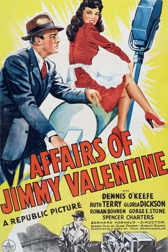 Poster of The Affairs of Jimmy Valentine
