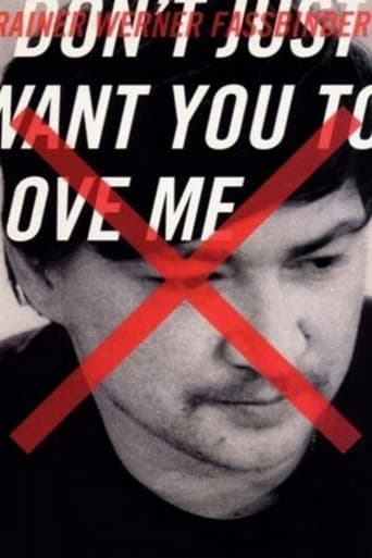 Poster of I Don't Just Want You to Love Me