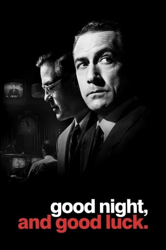 Poster of Good Night, and Good Luck.