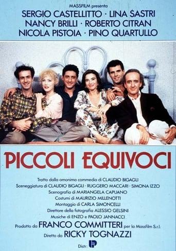 Poster of Piccoli equivoci
