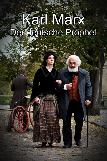 Poster of Karl Marx - Der deutsche Prophet