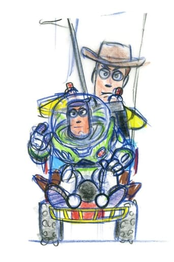 The Story Behind 'Toy Story' poster