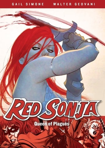 Poster of Red Sonja: Queen of Plagues