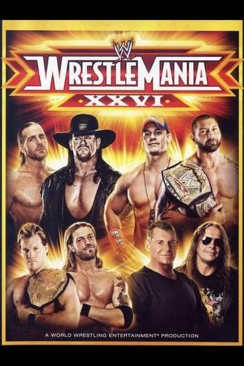 Poster of WWE Wrestlemania XXVI