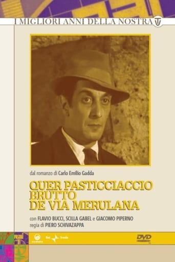 Poster of Quer pasticciaccio brutto de via Merulana