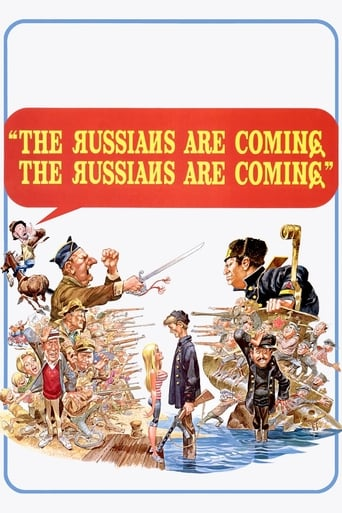 Poster of The Russians Are Coming! The Russians Are Coming!