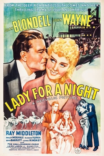 Poster of Lady for a Night