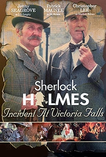 Poster of Sherlock Holmes: Incidente en las Cataratas Victoria