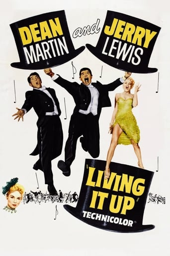 Poster of Living It Up