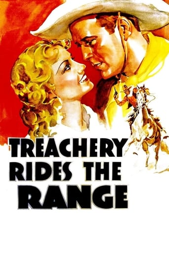 Poster of Treachery Rides the Range
