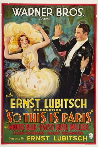 Poster of So This Is Paris