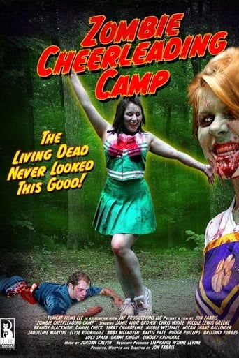Poster of Zombie Cheerleader Camp