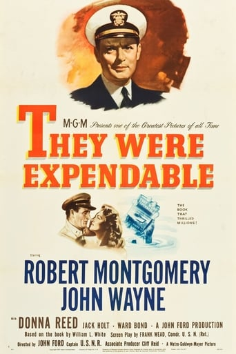 Poster of They Were Expendable