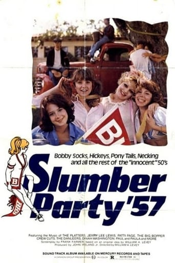 Poster of Slumber Party '57