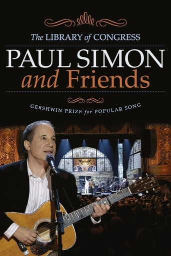 Poster of Paul Simon and Friends: The Library of Congress Gershwin Prize for Popular Song