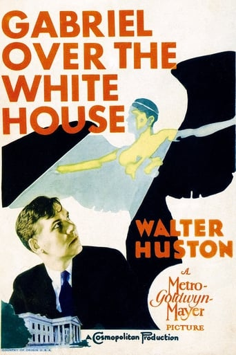 Poster of Gabriel Over the White House