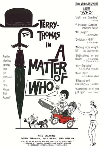 Poster of A Matter of WHO