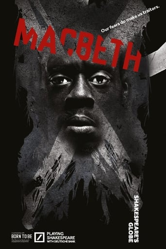 Poster of Macbeth: Live from Shakespeare's Globe