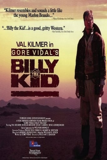 Poster of Gore Vidal's Billy the Kid